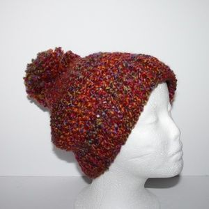 Beautiful Handmade Beanie with pom pom